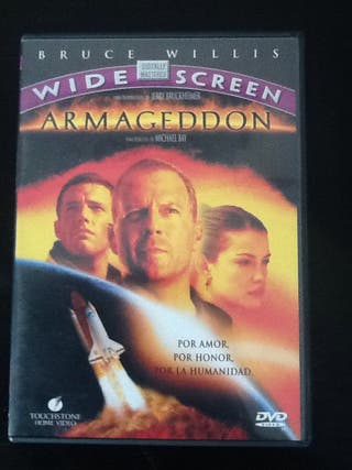 """Dvd """"Armagedon"""""""