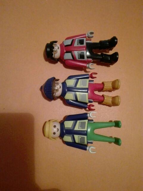 Playmobil lote de 3 figuras polo norte Antártida