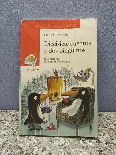 Libro Diecisiete cuentos y dos pingüinos