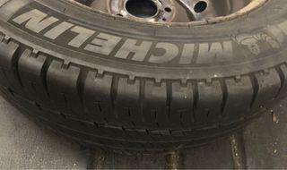 Llantas completas con neumáticos michelin