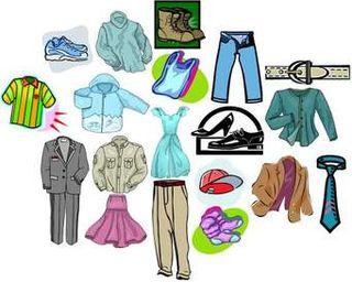 ropa variada