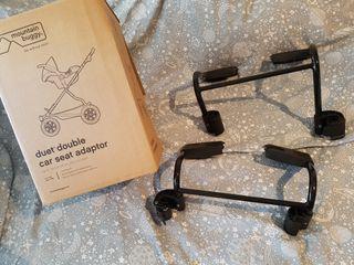 Adaptadores de maxicosi para mountain buggy duet