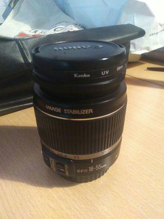 objetivo Canon EF-S 18-55 mm