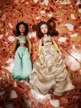 muñecas porcelana Yasmin y Bella