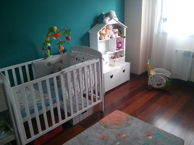Cuna bebé + cambiador