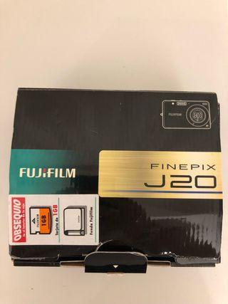 Cámara de fotos Fujifilm Finepix J20