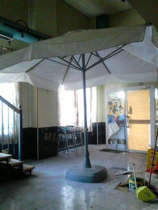 2 Sombrillas EZPELETA (3x3m)