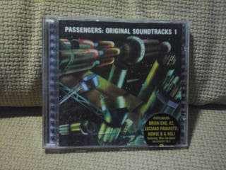 CD de PASSENGERS (BRIAN ENO Y U2 ) ( AMBIENT )