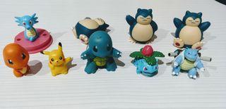 Lote figuras Pokémon