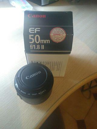 Objetivo Canon F.1.8
