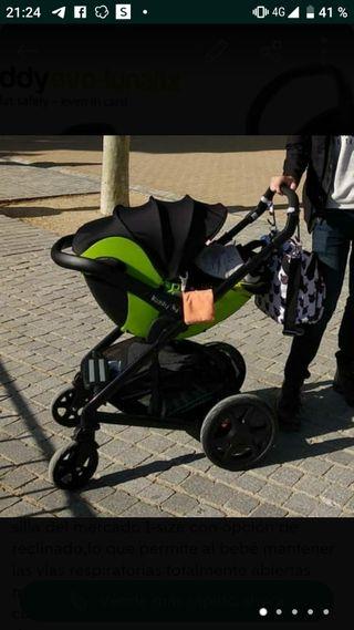 Silla bebe coche Kiddy I-Size. 5 estrellas RACE