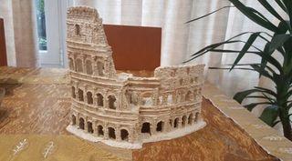 Coliseo Roma Acuario pecera