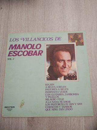 Disco vinilo lp Manolo Escobar