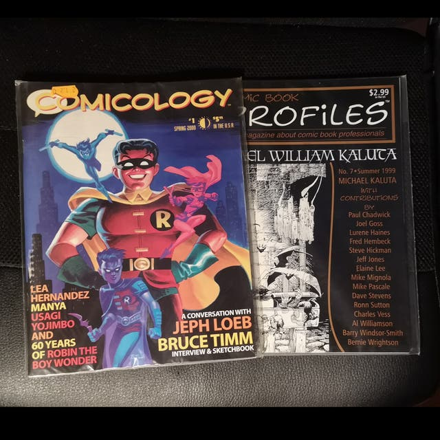 Lote Comic Book Artists y The comics Journal