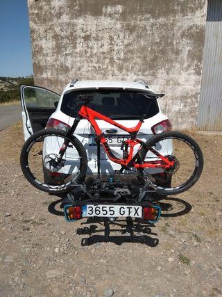 portabicicletas de bola de 3 bicicletas