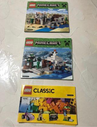 Piezas de Lego