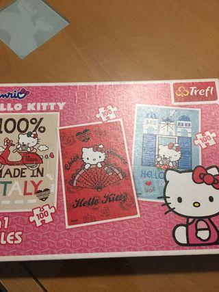 Puzzle Hello Kitty ( contiene tres)