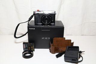 Fujifilm x-e3 + fujinon xf27 + extras