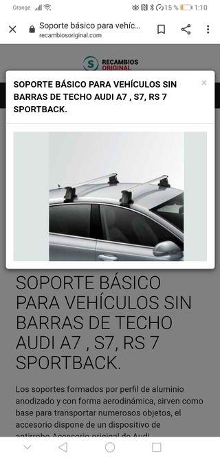 BARRAS TRANSPORTE BACA AUDI A7