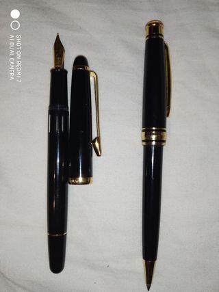 pluma reform y bolígrafo pierre cardin