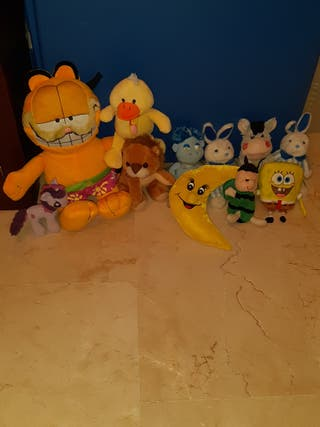 lote 11 peluches