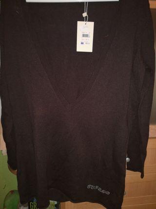 jersey manga larga