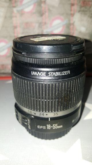 Objetivo Canon 18-55 mm ( sólo manual)