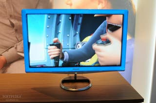 "Monitor 24"" Philips LightFrame Moda"