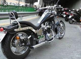 MOTO CHOPPER CUSTOM. LEONART SPIDER