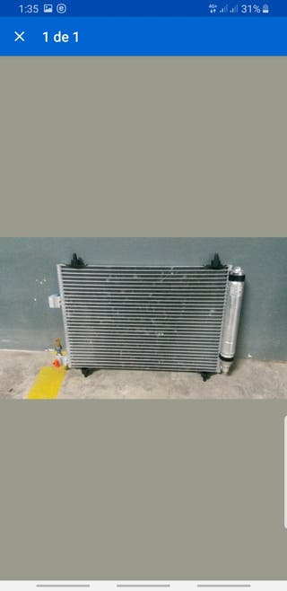 condensador de aire acondicionado citroen c5
