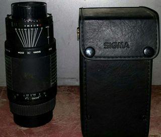 Objetivo Sigma cámara reflex Af 75/300mm ( Más de 80 artículos en mi perfil