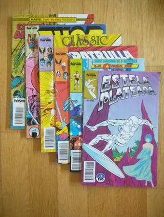 LOTE DE 6 COMICS MARVEL