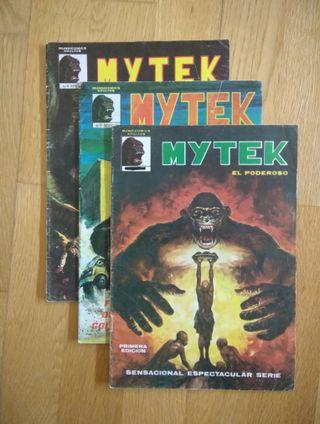 LOTE DE 3 COMICS MYTEK