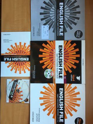Libros Inglés B2 + CD