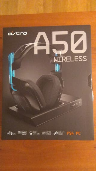 Auriculares gamer Astro a50 pc ps4