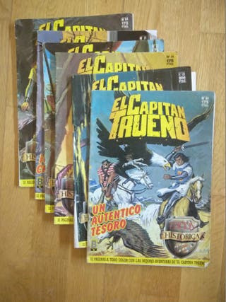 LOTE COMICS CAPITÁN TRUENO. AÑOS 80