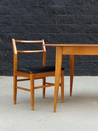 Set de 5 sillas estilo NORDICO. Vintage, 70s.