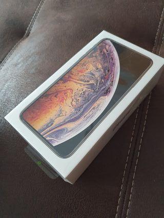 Iphone xs max 256 gb oro precintado 2 años de gar