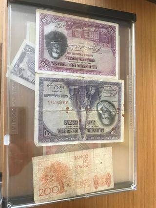 24 billetes coleccion.