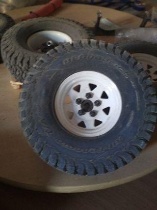 RC ruedas y llantas 1.9 bfgoodrich