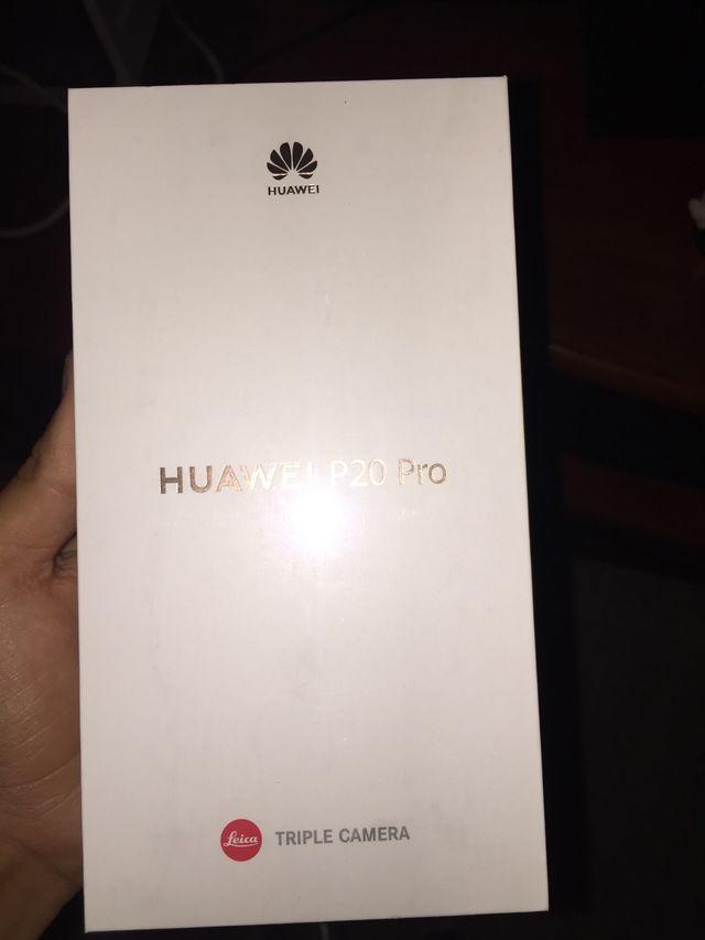 Huawei P20 pro ¡SIN ESTRENAR!