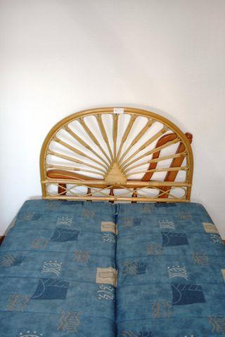 Cabecero de cama de bambú