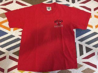 Camiseta nba marca lee chicago bulls vintage