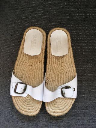 Sandalias de yute