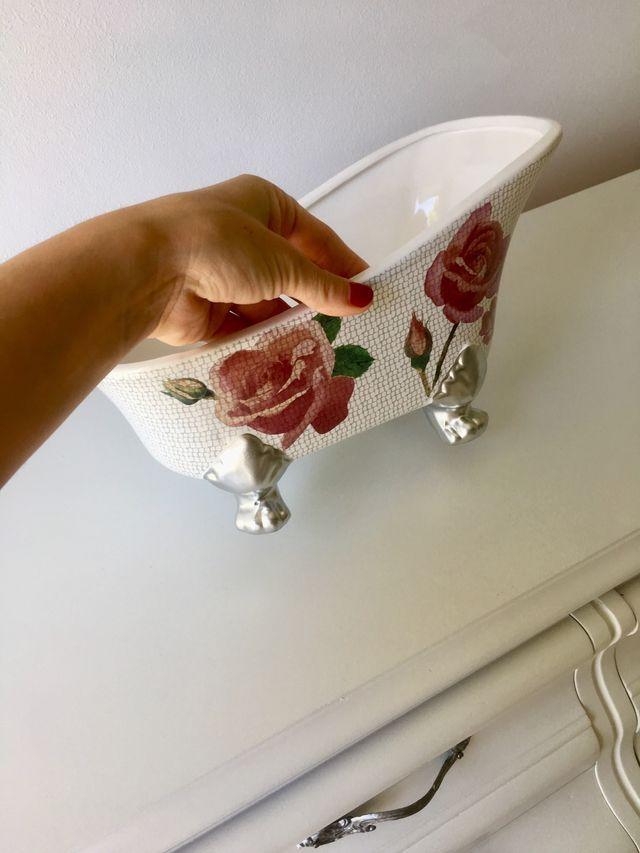 Bañera de cerámica a estrenar