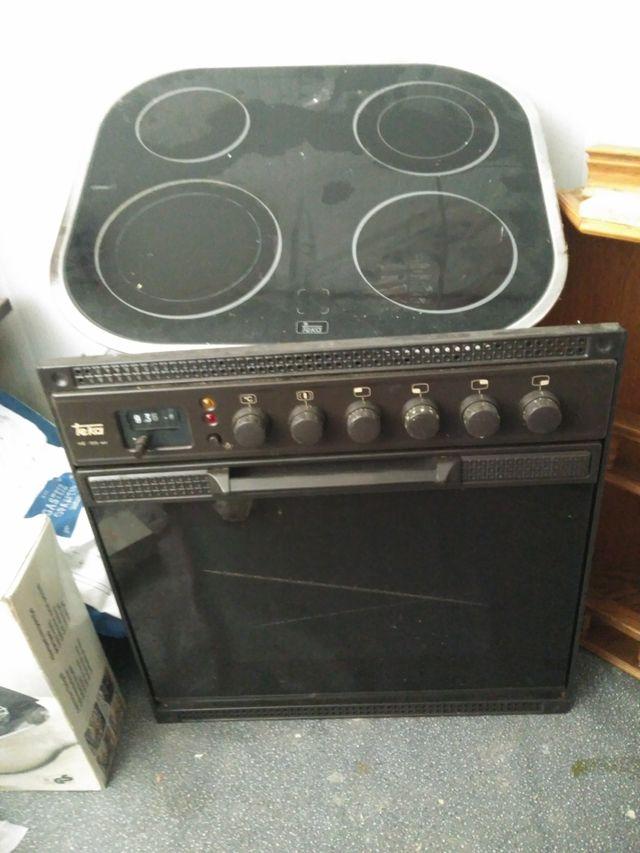 horno y placa electricos