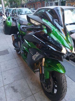 Moto Kawasaki ninja h2SX