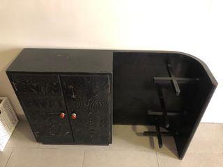 Mueble Vintage de Madera 2 puertas