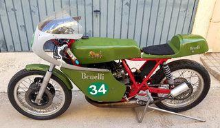 benelli, 250cc. competición.