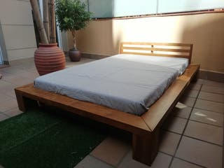 Cama de teca